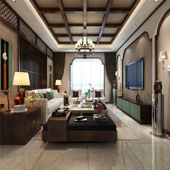 140平米四室两厅东南亚风格客厅图片