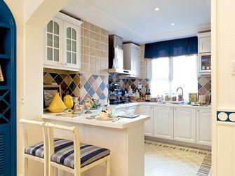 140平米四室一厅地中海风格厨房设计图