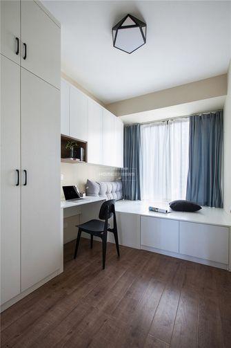 80平米三室两厅北欧风格书房设计图