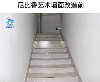 30平米以下超小户型宜家风格楼梯间效果图
