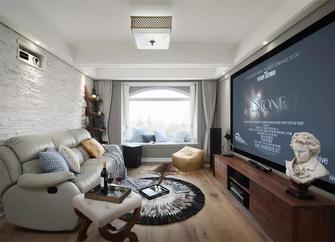 130平米四室两厅美式风格影音室欣赏图