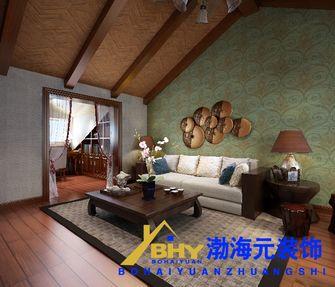 经济型130平米复式东南亚风格阁楼装修图片大全