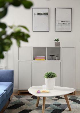 80平米三室兩廳北歐風格其他區域設計圖