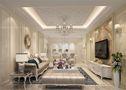 豪华型120平米四室一厅欧式风格客厅效果图