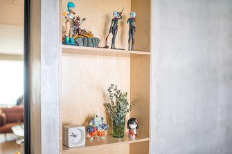 140平米四室一厅现代简约风格储藏室装修效果图