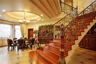 豪华型140平米别墅欧式风格楼梯欣赏图