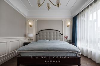 140平米复式美式风格卧室欣赏图