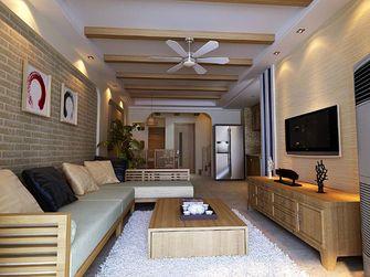 130平米复式地中海风格客厅图片