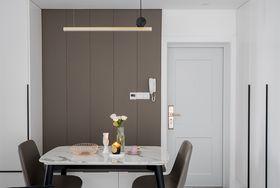 90平米三室一廳現代簡約風格餐廳裝修案例
