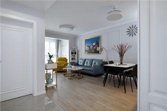50平米一室两厅欧式风格餐厅欣赏图