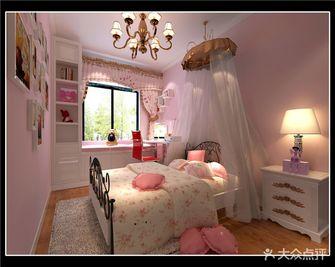 90平米三室一厅现代简约风格卧室壁纸装修案例