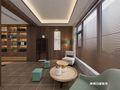 140平米三室两厅中式风格阳光房欣赏图