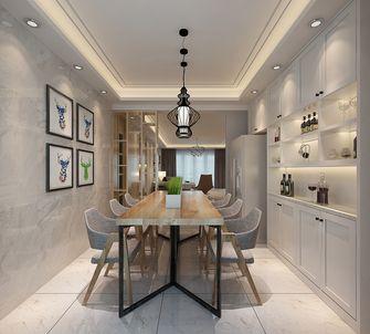 140平米三室两厅北欧风格餐厅设计图