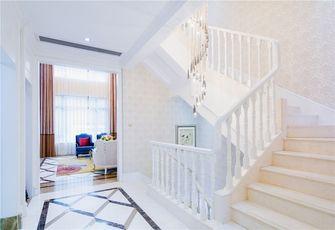 富裕型140平米三室一厅欧式风格楼梯图片大全