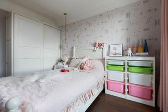 140平米三室一厅美式风格儿童房图