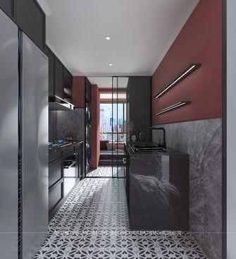 富裕型130平米三室两厅英伦风格厨房图