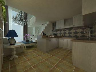 3-5万60平米公寓英伦风格厨房图