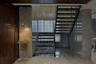 140平米三室两厅混搭风格楼梯间装修效果图