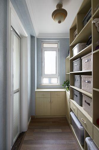 经济型110平米三室两厅美式风格储藏室装修效果图