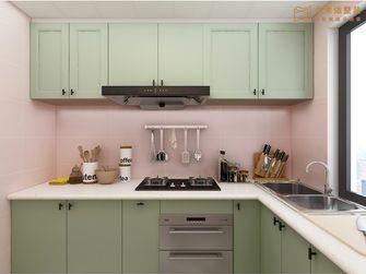 60平米一室两厅北欧风格厨房图