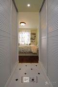 富裕型110平米三室一厅美式风格储藏室效果图