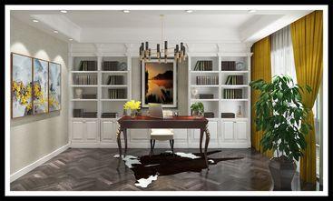 140平米别墅混搭风格书房欣赏图