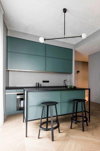 60平米一居室混搭风格厨房装修图片大全