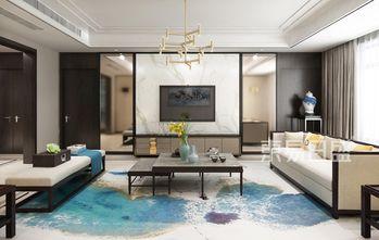 140平米复式中式风格客厅效果图