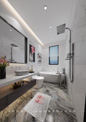 80平米三室兩廳現代簡約風格衛生間圖