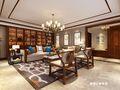 140平米三室两厅中式风格阁楼图片大全
