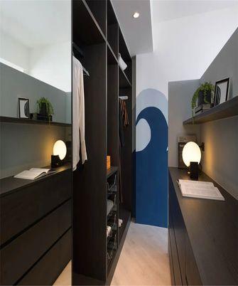 130平米三室两厅现代简约风格衣帽间装修案例
