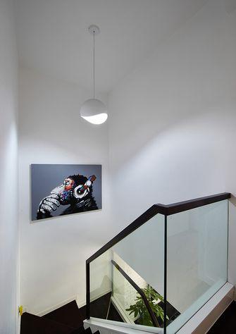 富裕型130平米复式现代简约风格楼梯欣赏图