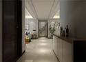 140平米三室五厅现代简约风格玄关图片