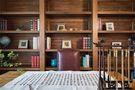 130平米三室两厅中式风格书房橱柜装修图片大全
