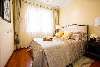 110平米三室两厅欧式风格卧室装修图片大全