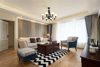5-10万140平米三室两厅美式风格客厅飘窗装修图片大全