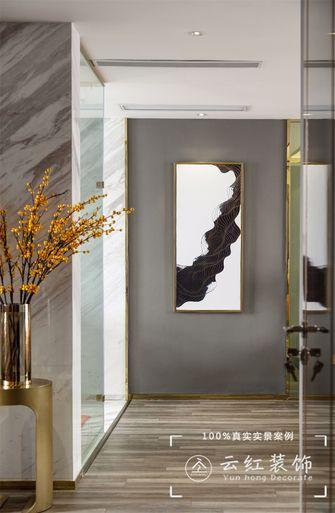 120平米复式现代简约风格走廊效果图