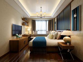 100平米中式风格卧室设计图