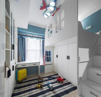 100平米三室一厅混搭风格儿童房图片大全