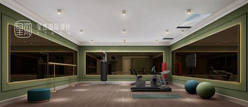 140平米别墅混搭风格健身室图