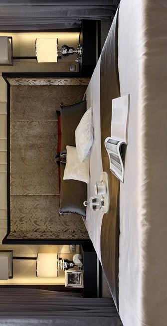 130平米三室两厅混搭风格卧室效果图