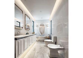 140平米别墅中式风格卫生间图