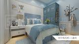 130平米四室两厅地中海风格儿童房图片