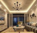120平米三室两厅地中海风格客厅装修案例