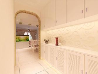 100平米三室两厅田园风格走廊设计图