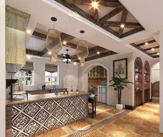 140平米别墅田园风格厨房设计图