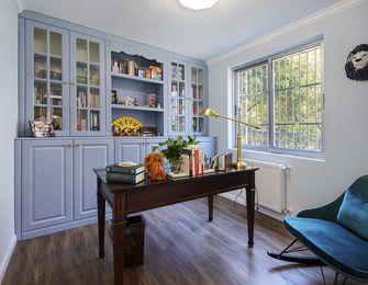 120平米三室两厅美式风格书房装修效果图