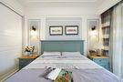 130平米三室两厅美式风格卧室背景墙图片