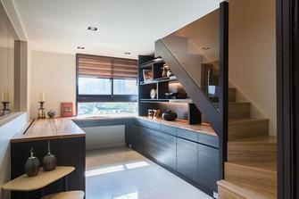5-10万100平米三室两厅混搭风格楼梯装修图片大全