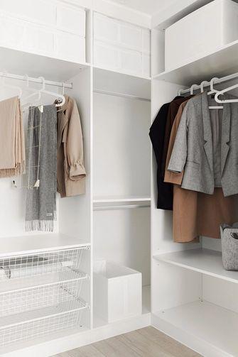 60平米公寓北欧风格衣帽间装修案例